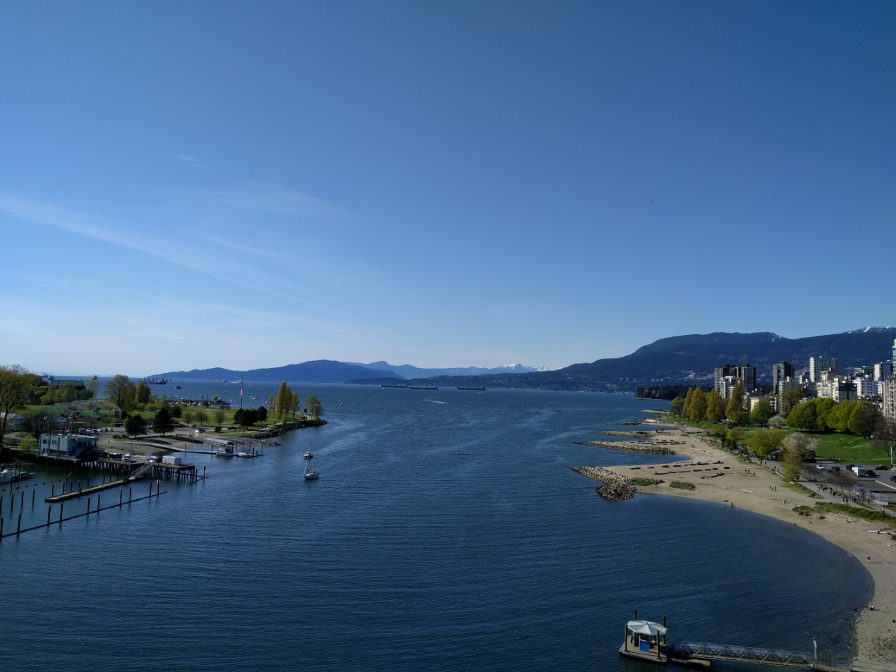 Vancouver's English Bay